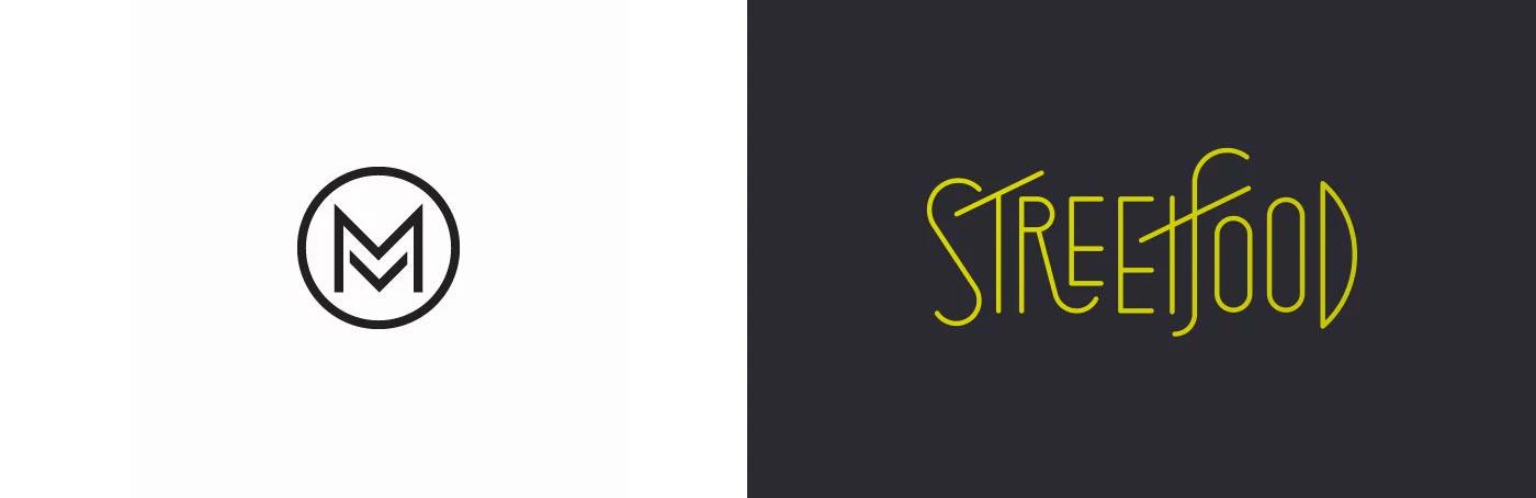 极简主义的品牌(标志)logo设计