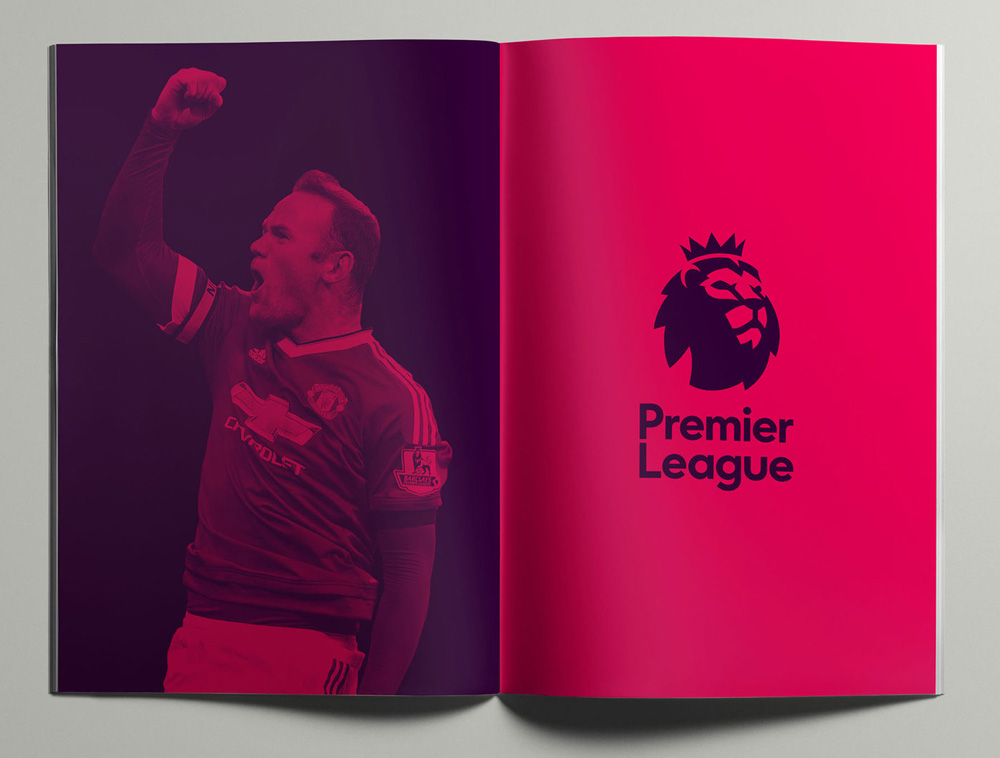 英格兰足球画册设计